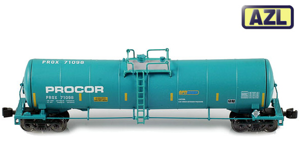 23,000 Gallon Funnel Flow Tank Car