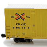 60′ High Cube Boxcar