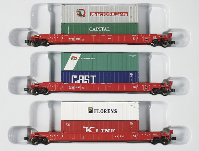 CP NSC 53' Well Car Set