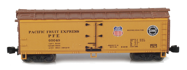 PFE Wooden Reefers