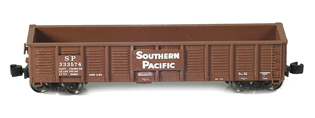 Southern Pacific Waffle Gondola