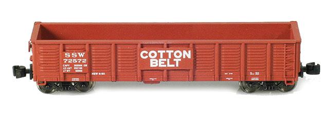 SSW (Cotton Belt) 2420 Waffle Gondola