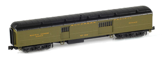 Pullman Baggage Cars SP