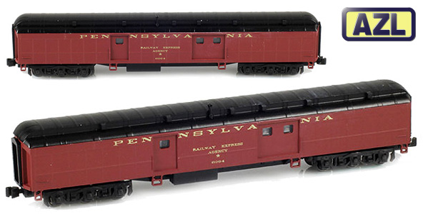 Pullman Baggage Cars