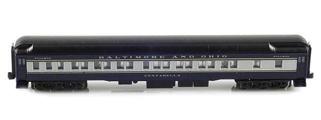 Baltimore & Ohio 8-1-2 Pullman Sleeper