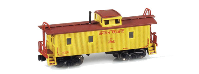 UP Caboose Yellow