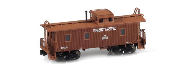 UP Caboose Brown