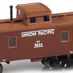 CA-1 Brass Wood Side Caboose