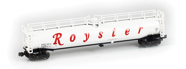 Royster 33,000 Gallon LPG Tank Car
