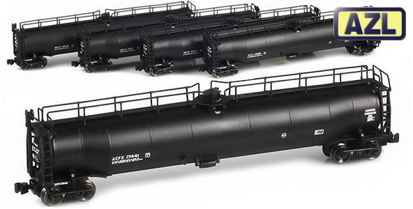 33,000 Gallon Liquid Petroleum Gas (LPG) Tanks Cars