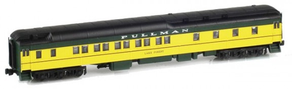 CNW 10-1-2 Pullman Sleeper
