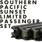 Southern Pacific Sunset Limited Passenger Set