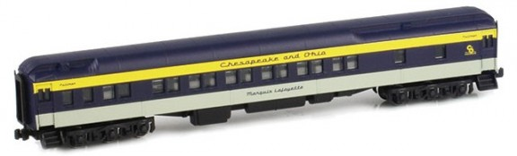 C&O Passenger Cars