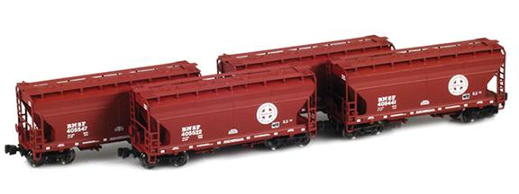 BNSF ACF 2-Bay Hoppers