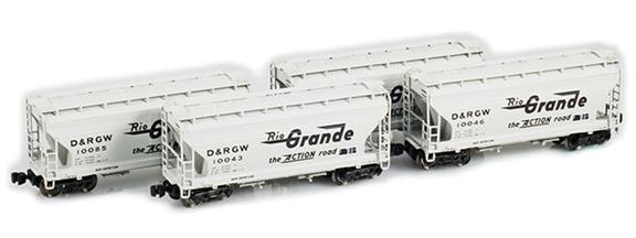 D&RGW 2-Bay Hoppers