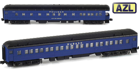 Wabash Heavyweight Passenger Cars