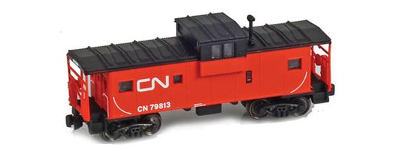cn wIDE vISION cABOOSE
