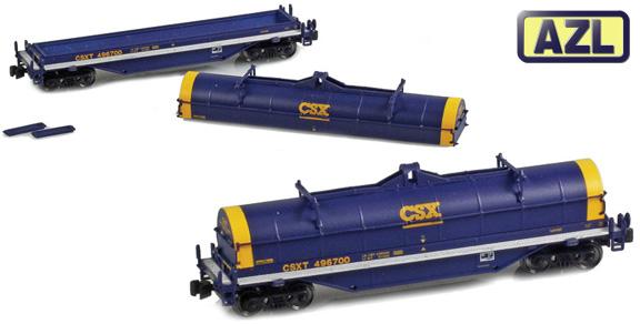 Rail Miniatures Llc National Steel Cars Nsc Coil Cars