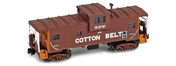 Cotton Belt Wide Vision Caboose