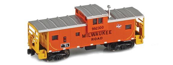 MILW Wide Vision Caboose