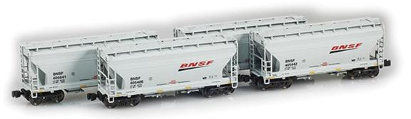 BNSF 2-Bay Hoppers
