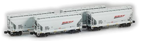 BNSF 2-Bay Hoppers