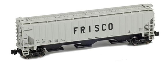 Frisco (SLSF) PS2-CD Covered Hoppers