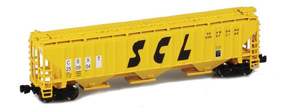 Seaboard Coast Line CSXT PS2-CD Covered Hoppers