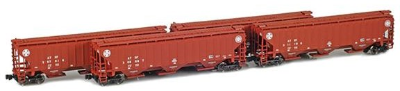 ATSF PS2-CD Covered Hoppers