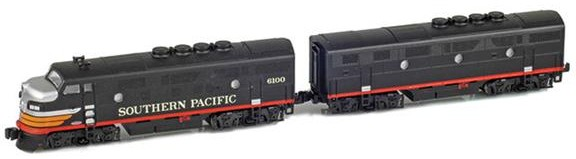 EMD F3s – Southern Pacific