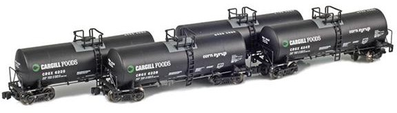 CRGX 17,600 Gallon Corn Syrup Tank Cars
