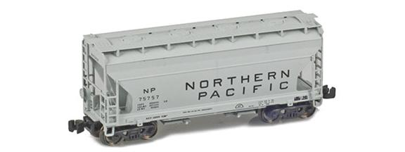 Northern Pacific ACF 2-Bay Hoppers