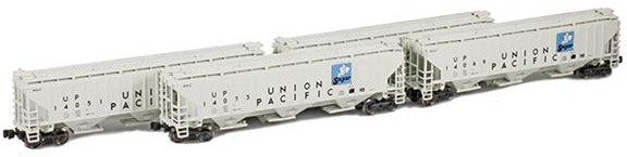 Union Pacific 'Sugar' - PS2-CD Covered Hoppers