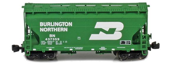 Burlington Northern ACF 2-Bay Hoppers