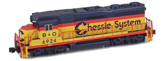 Chessie GP30 B&O
