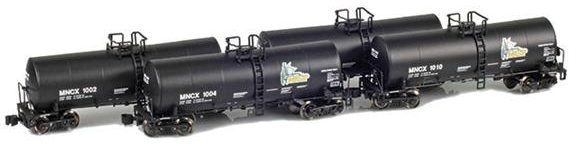 MNCX 17,600 Gallon Corn Syrup Tank Cars: