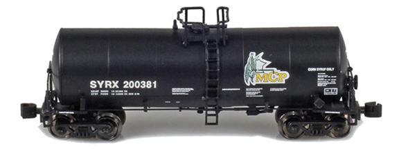 MNCX 17,600 Gallon Corn Syrup Tank Cars: