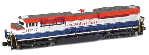 FEC, Rail America SD70ACe 105 Safety Cab