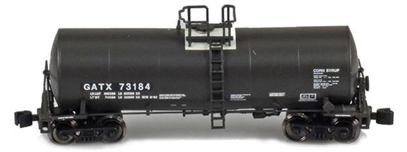 GATX 17,600 Gallon Corn Syrup Tank Cars