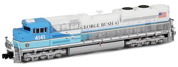 UP SD70ACe 4141 George Bush