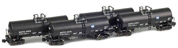 GATX 17,600 Gallon Corn Syrup Tank Cars