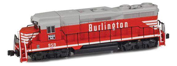 EMD GP30s – Burlington