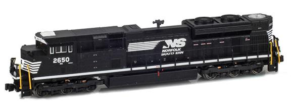NS SD70M-2 2650 Original Cab
