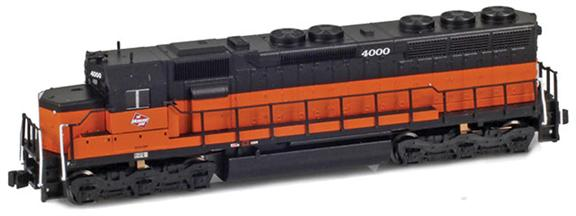 EMD SD45 – Milwaukee Road