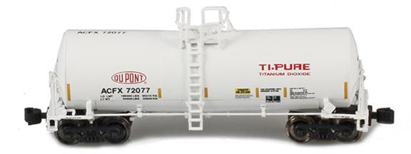 17,600 Gallon Corn Syrup Tank Cars | DuPont Ti-Pure: