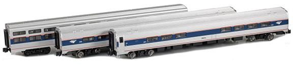 72075-2 Amtrak AmFleet II 3-pack
