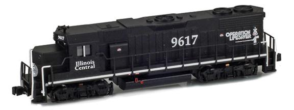EMD GP38-2 | Illinois Central