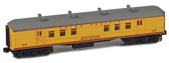 UNION PACIFIC RPO UNITED STATES MAIL RAILWAY POST OFFICE
