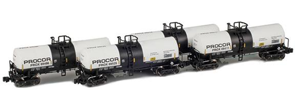 17,600 Gallon Tank Cars – Procor – Sodium Hydroxide