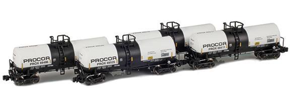 17,600 Gallon Tank Cars – Procor – Sodium Hydroxide